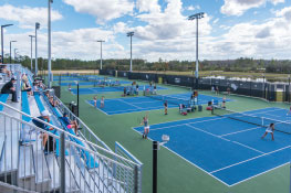 UCF Tennis Moves to Lake Nona
