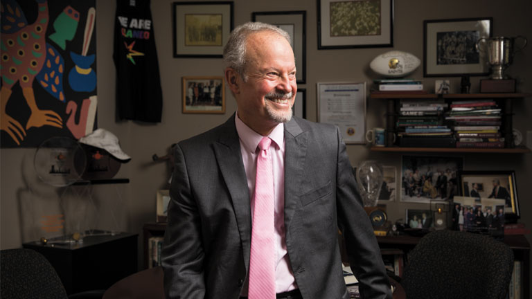 The Calm Persistence of Richard Lapchick