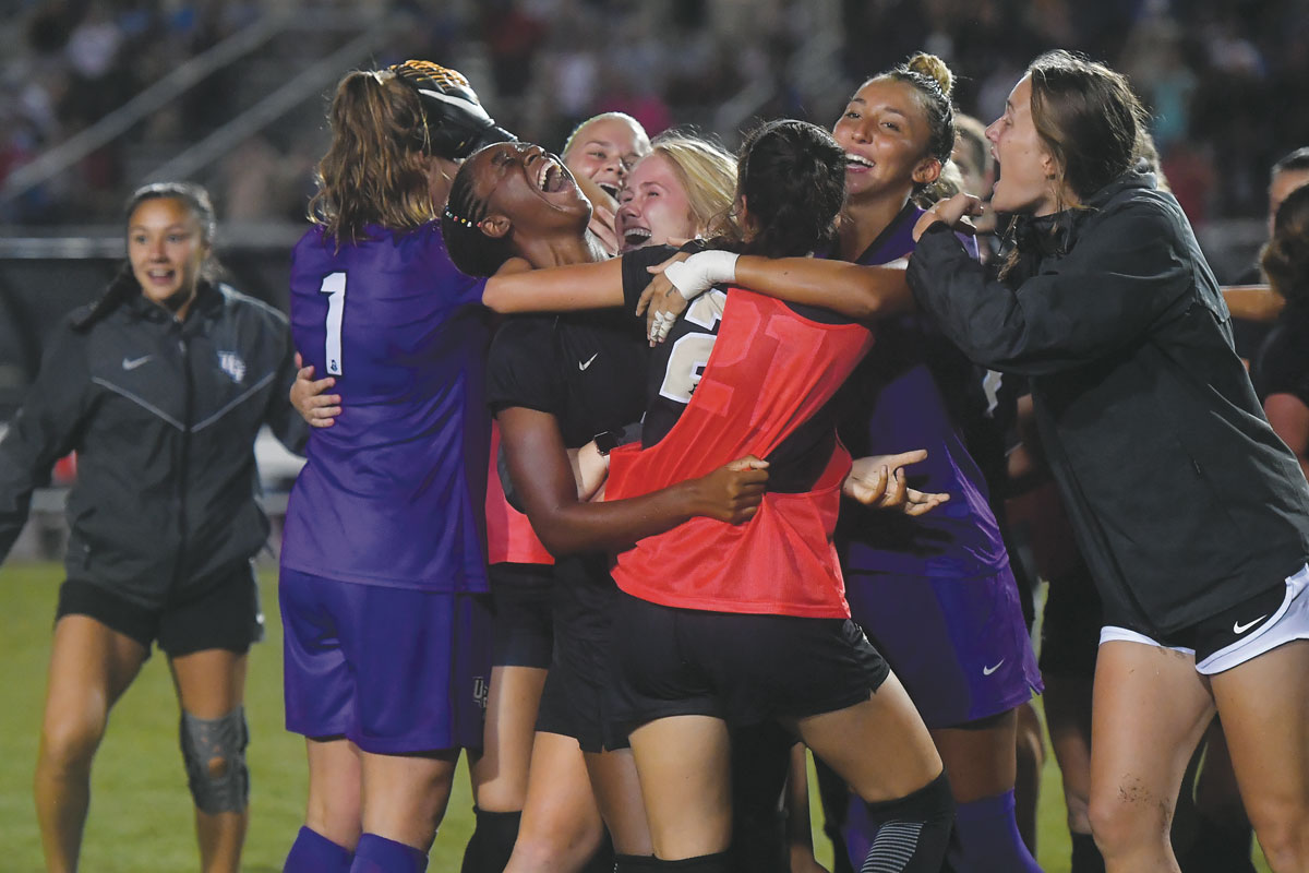 UCF Women Soccer Beat UNC