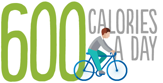 600 calories a day