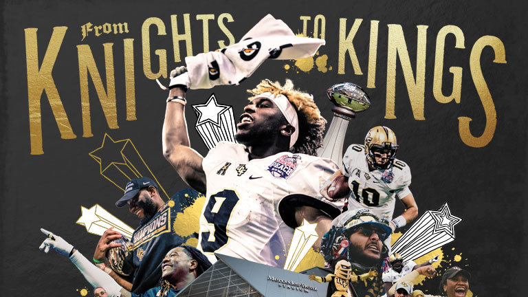 From Knights to Kings: The 2017 National Championship Season
