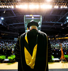 President Hitt's Final Commencement
