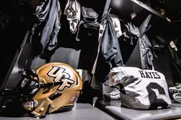 Game Day Gear from the 2018 UCF Football Season