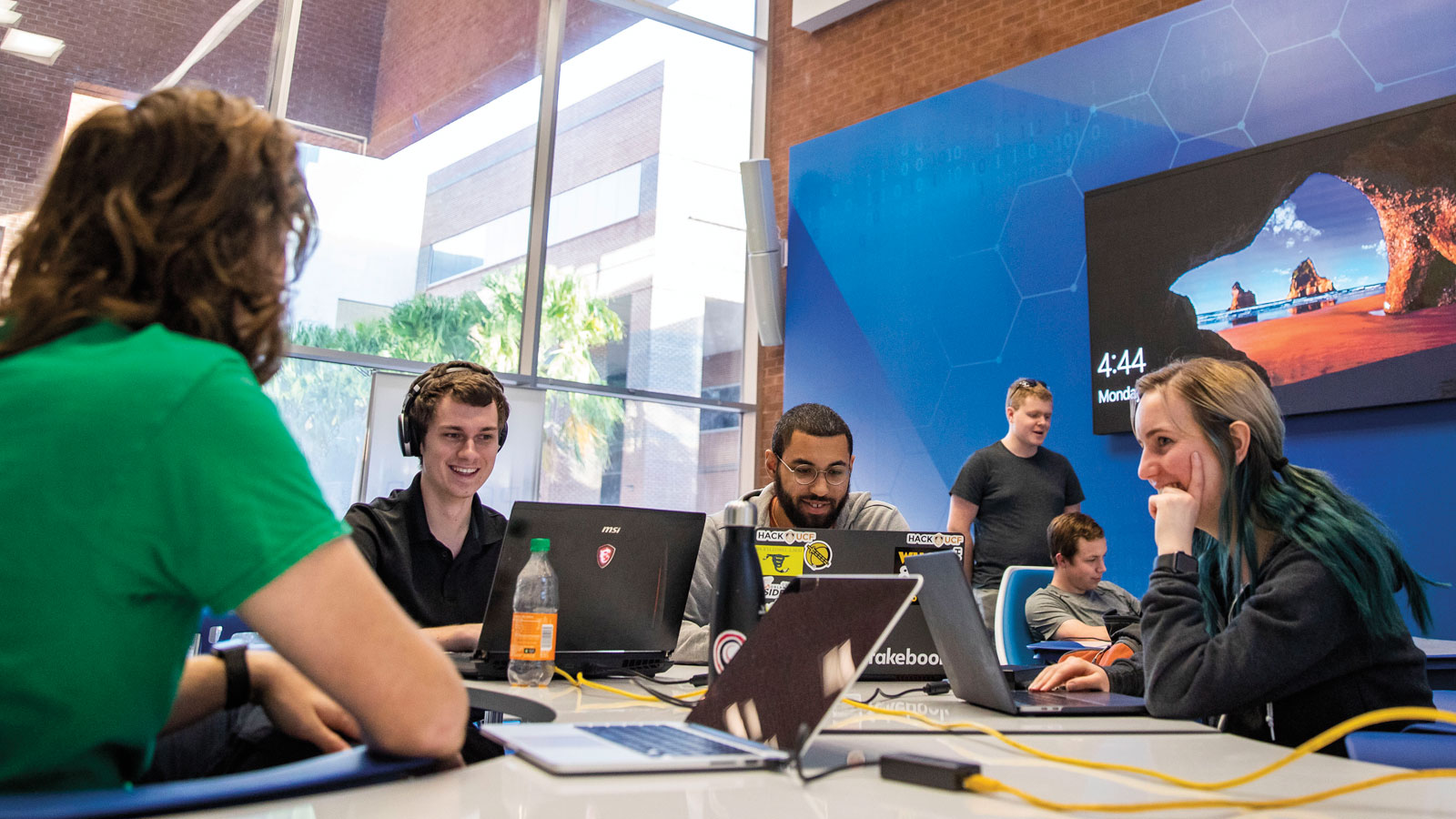 UCF Opens the Lockheed Martin Cyber Innovation Lab