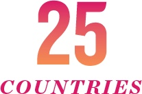 25 countries