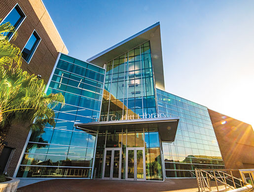 A Look at the Updated John C. Hitt Library