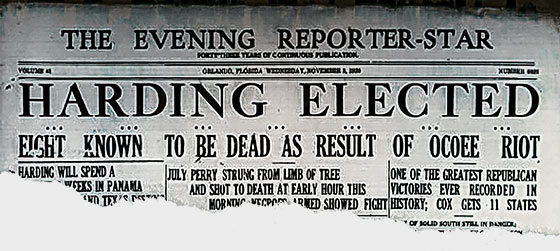 Newspaper Clipping 1920