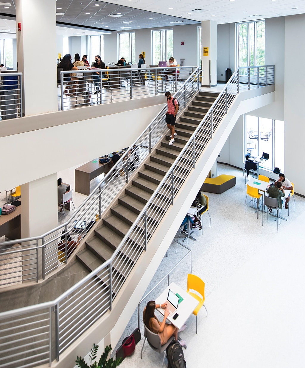Student Union Staircase