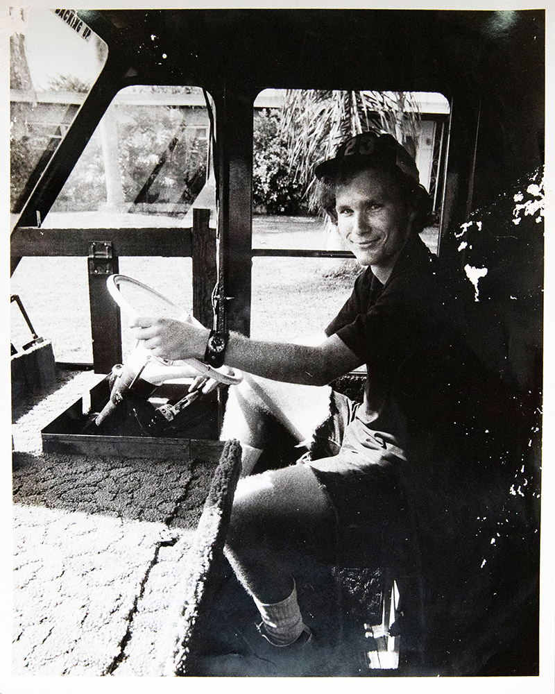 Kruckemyer embarked on a cross-country journey with two friends in a mail truck just a few days after graduating in 1973.