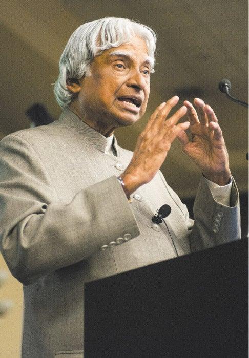 Former Indian President A. P. J. Abdul Kalam