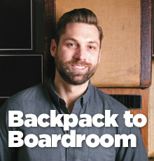 Backpack to Boardroom