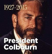 Remembering President Colbourn