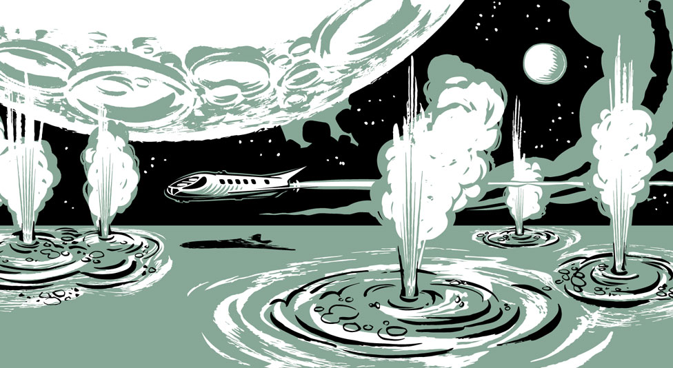 Illustration of Jupiter