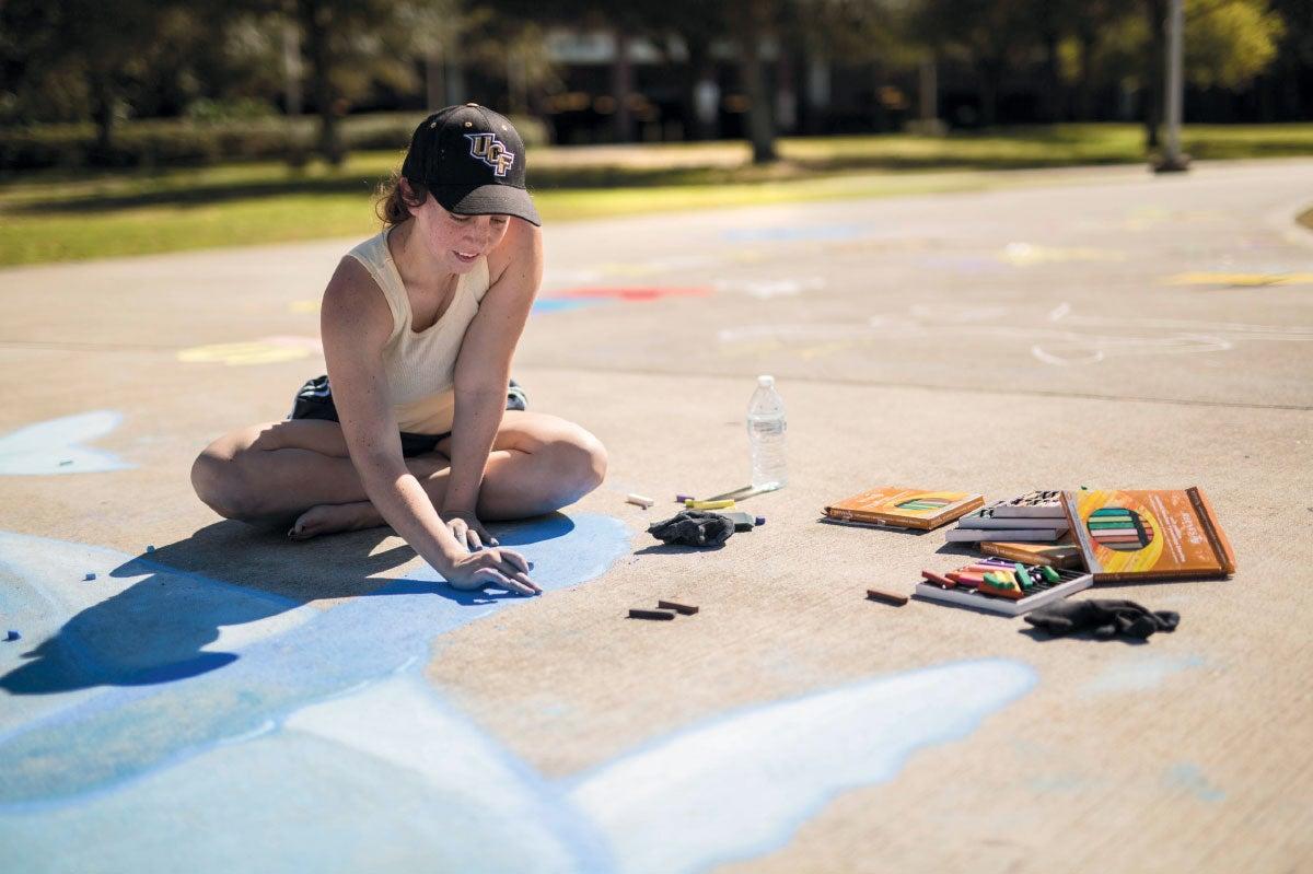 Memory Mall Chalk Art Festival