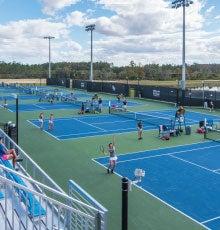 UCF Tennis Moves to Lake Nona