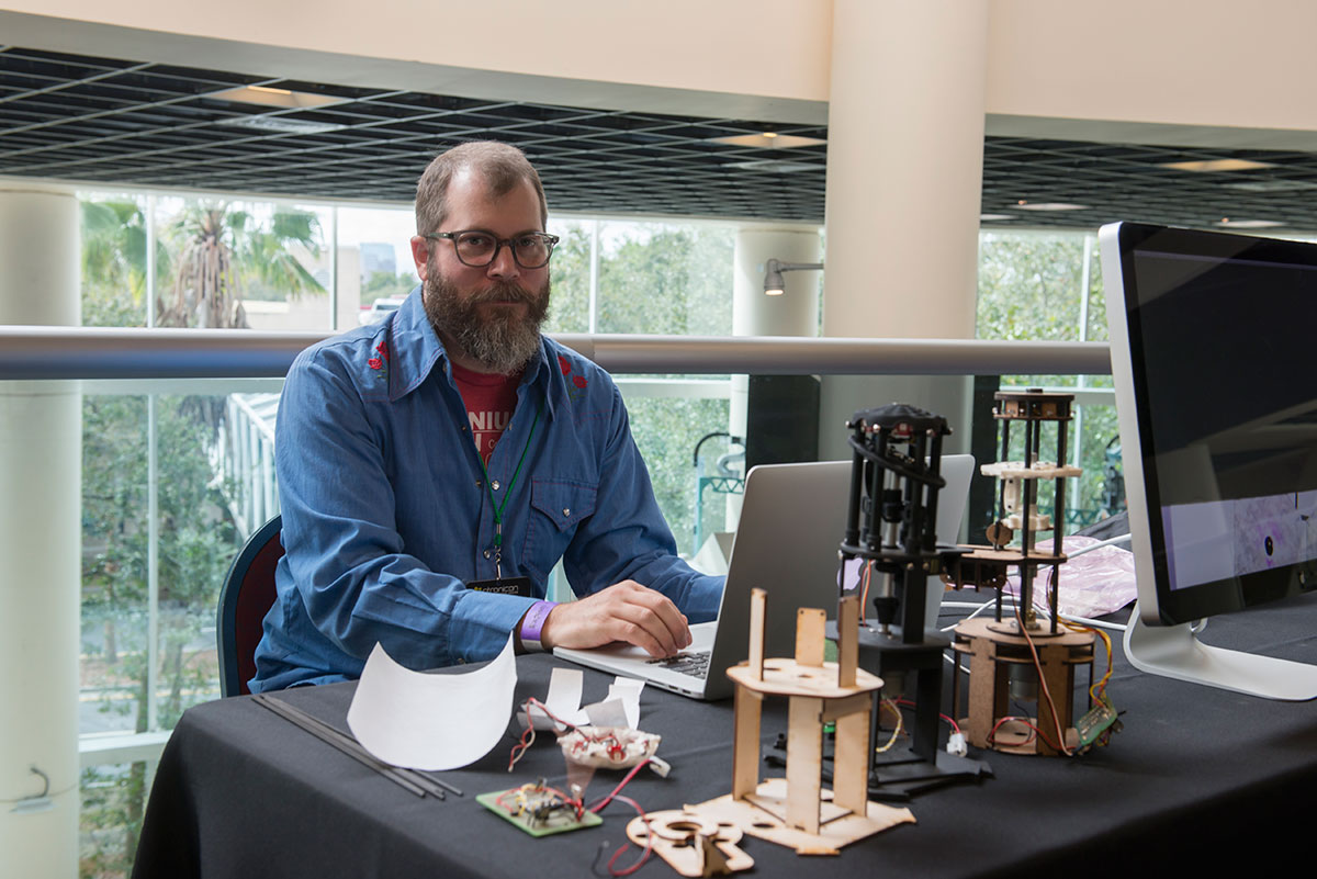 ucf-school-of-art-and-design-ryan-buyssens-at-otronicon
