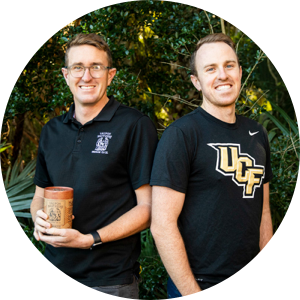 Bryon and Kyle White - creators of yaupon brothers tea co