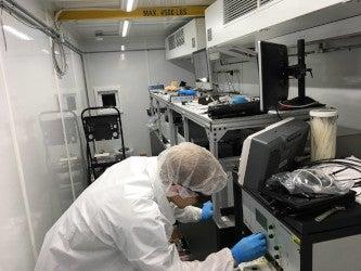 Mobile Ultrafast High Energy Laser Facility