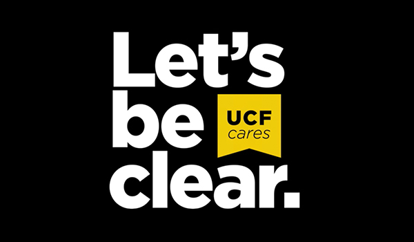 Let's Be Clear logo
