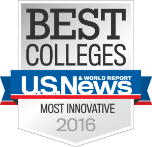 Best Colleges - U.S. News & World Report rankings ranked UCF as Most Innovative 2016