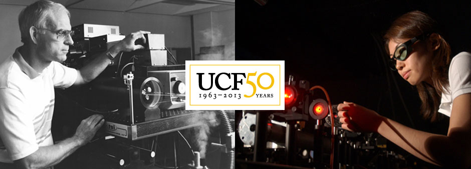UCF50 Now And Then: Lasers