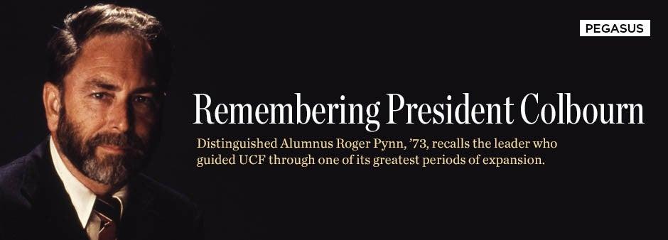 Pegasus Spring 2015: Remembering President Colbourn