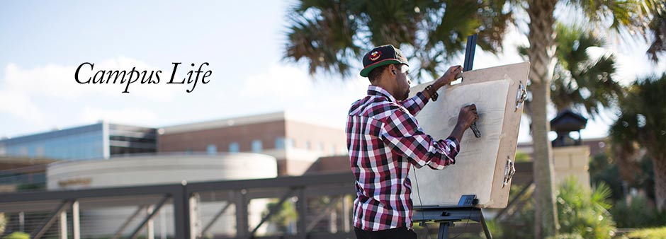 Campus Life - From a wide range of clubs to research labs and internships, UCF has it all.