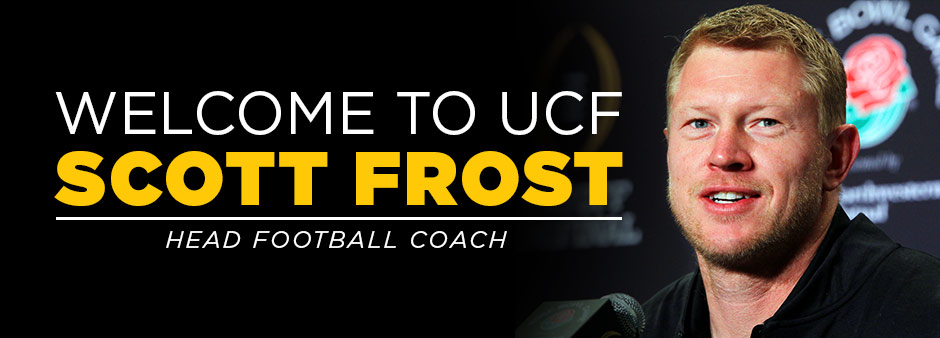 Welcome to UCF Scott Frost: New Head Football Coach