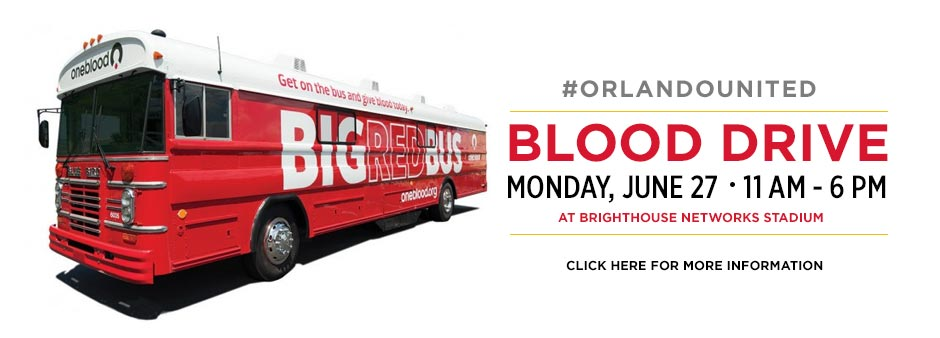 Blood Drive. Monday, June 27. 11am-6pm at Broighthouse Networks Stadium.