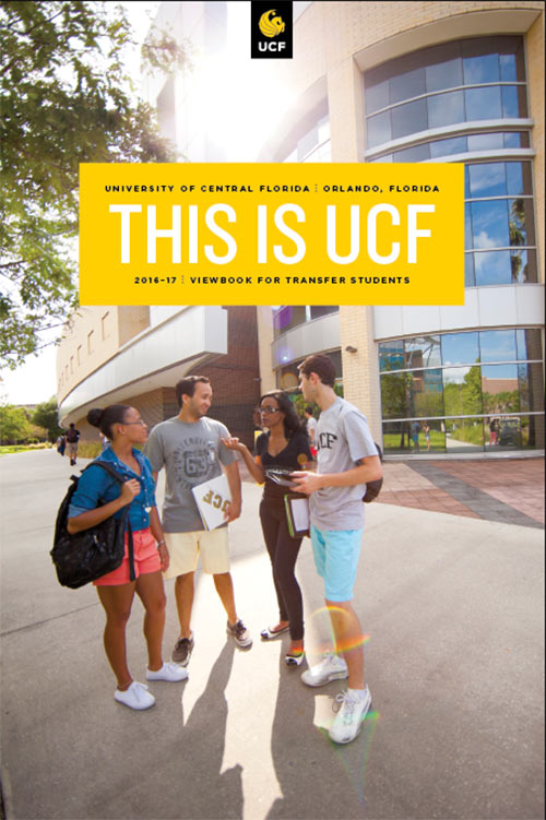 UCF Viewbook for transfer students 2016-2017